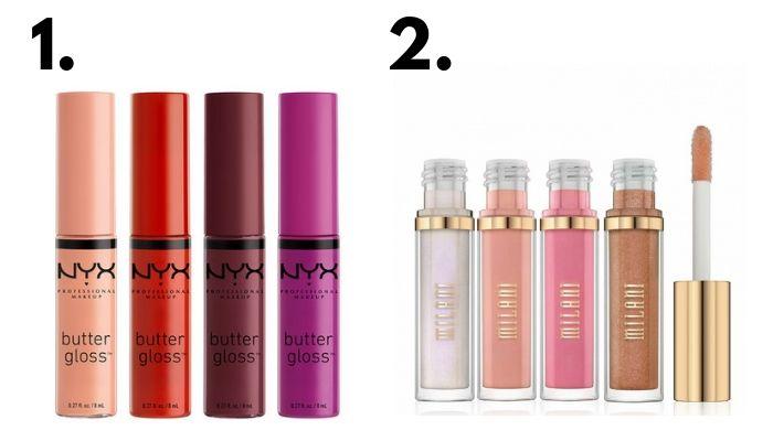 best drugstore lip gloss