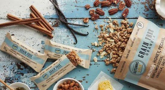 healthy snack granola bar