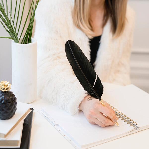 bullet journal personal development ideas