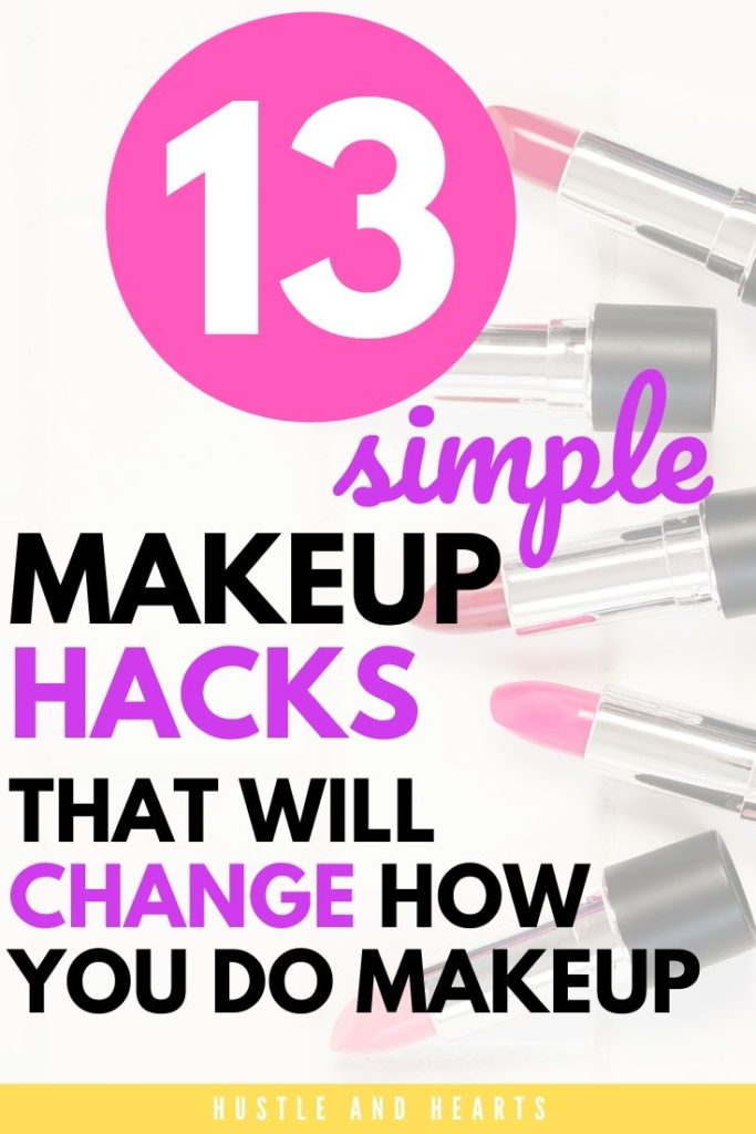 simple makeup hacks